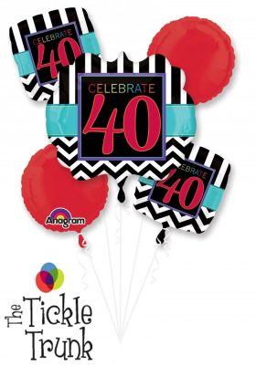 40th Birthday Celebration Bouquet AR-02 28827
