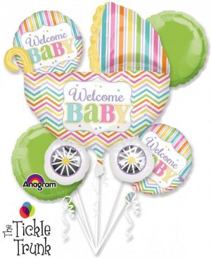 Baby Brights Balloon Bouquet NB-03 30917