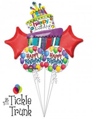Birthday Balloon Fun Bouquet BK-16 27162