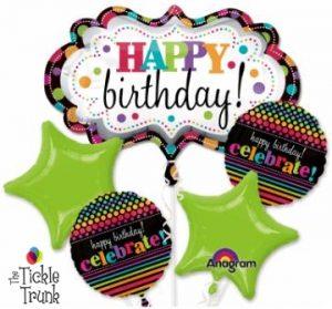 Birthday Marquee Balloon Bouquet BK-18 F25227