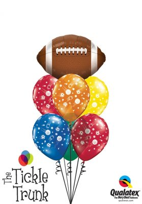 Giant Football Sports Extravaganza Balloon Bouquet SP-02