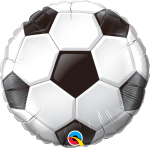 Soccer Ball18 Inch Shape Mylar Balloon 71597