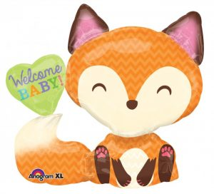SuperShape Welcome Baby Fox 28 W x 25 H 30850