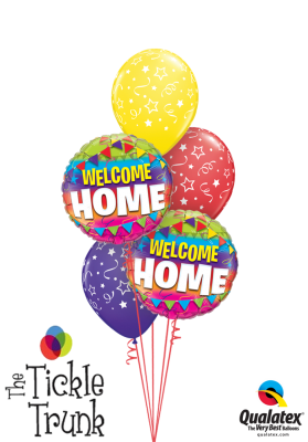 Welcome Home Balloon Bouquet WH-01