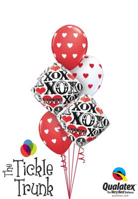 X & O Love Balloon Bouquet LV-01