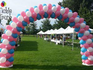 Balloon Arch Stripe Pattern