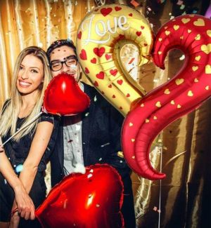 Valentine's Day Balloon Bouquets
