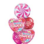 You're Sweet Candy Hearts Balloon Bouquet