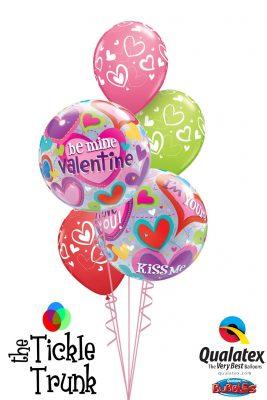 Be Mine Valentine Balloon Bouquet VD-01