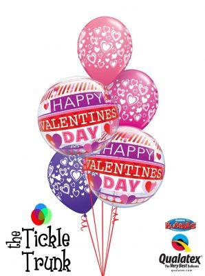 Be My Valentine Balloon Bouquet 2016vday6 LR