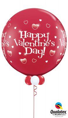 Big Red Valentine 30 Inch Balloon