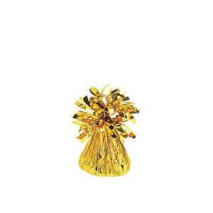 Gold Small Foil Balloon Weight 112725.19