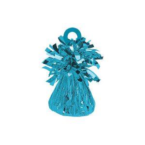Small Foil Balloon Weight - Caribbean Blue 112725.54